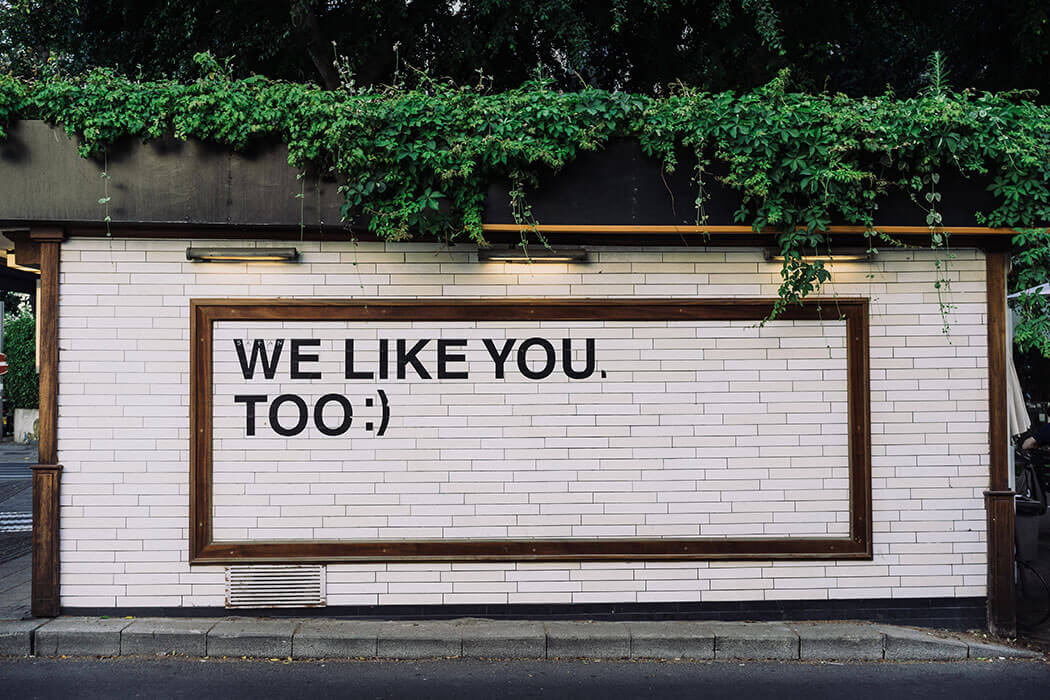 "reputation ""we like you too"""